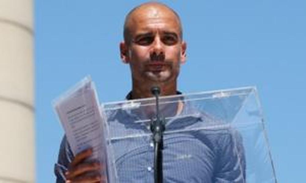 Ο Γκουαρντιόλα ξεσηκώνει τους Καταλανούς για την ανεξαρτησία τους