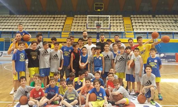 Ο Βουγιούκας έκλεισε την πρώτη περίοδο του West Side Basketball Camp