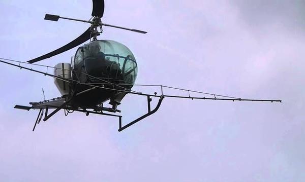 Έπεσε ελικόπτερο στον Σχινιά