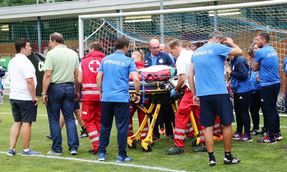 Ολυμπιακός: Ο σοκαριστικός τραυματισμός του Ρέτσου (vid)