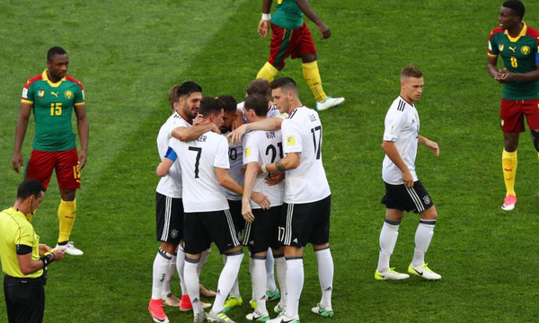 Confederations Cup: Γερμανία και Χιλή προκρίθηκαν στους «4»