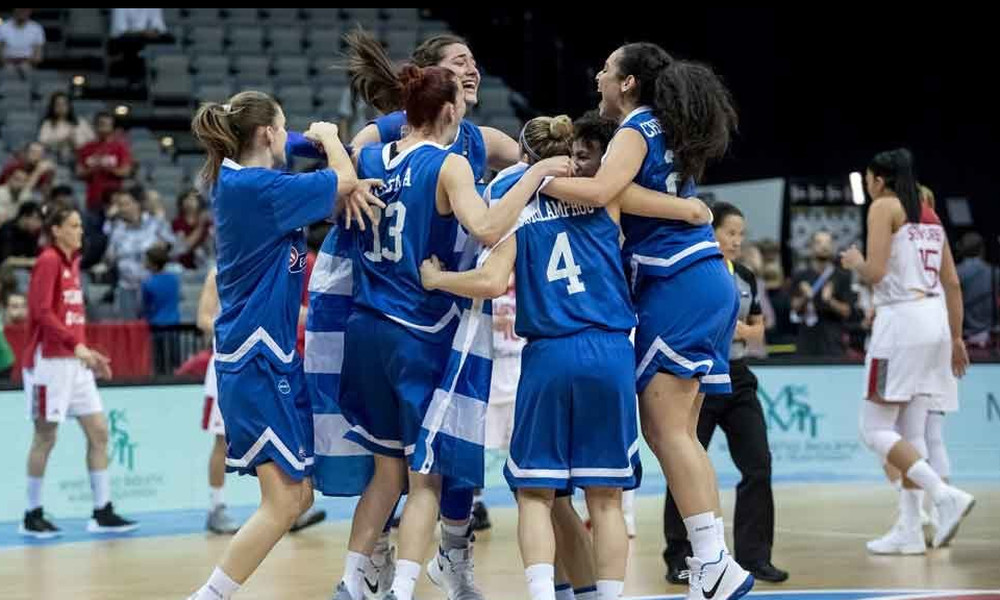 Εθνική Γυναικών: Το πρόγραμμα των προκριματικών του Eurobasket 2019