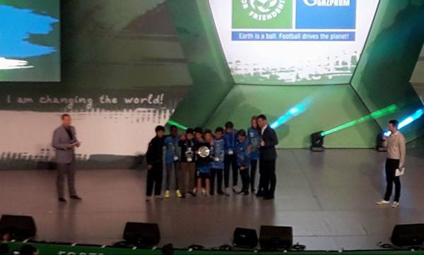 Football For Friendship: Ελληνικό… το Fair Play της διοργάνωσης
