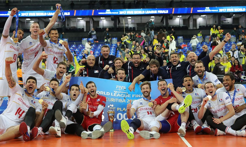 Πρωταθλητές οι Γάλλοι!