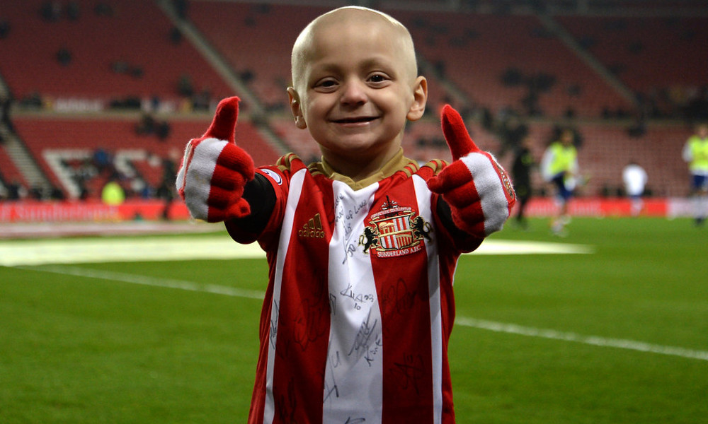 Mία λίρα για την καταπολέμηση του καρκίνου στη μνήμη του μικρού Μπράντλεϊ