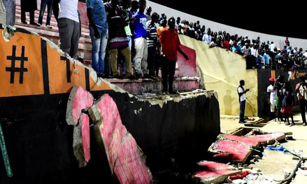 Τραγωδία! Οκτώ νεκροί οπαδοί από κατάρρευση κερκίδας στην Σενεγάλη!