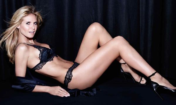 Το γυμνό βιβλίο της Heidi Klum μας έβγαλε τα μάτια