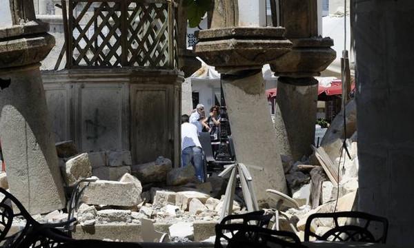 Ντόμινο Ρίχτερ στο Αιγαίο - Συνεχίζονται οι μετασεισμοί στην Κω
