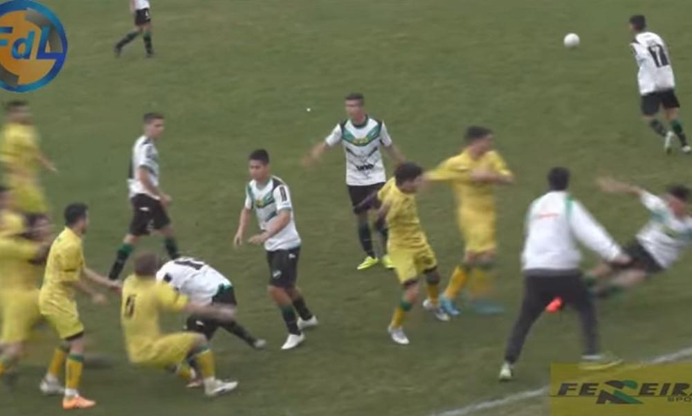 Τρελό ξύλο μεταξύ παικτών στην Αργεντινή!