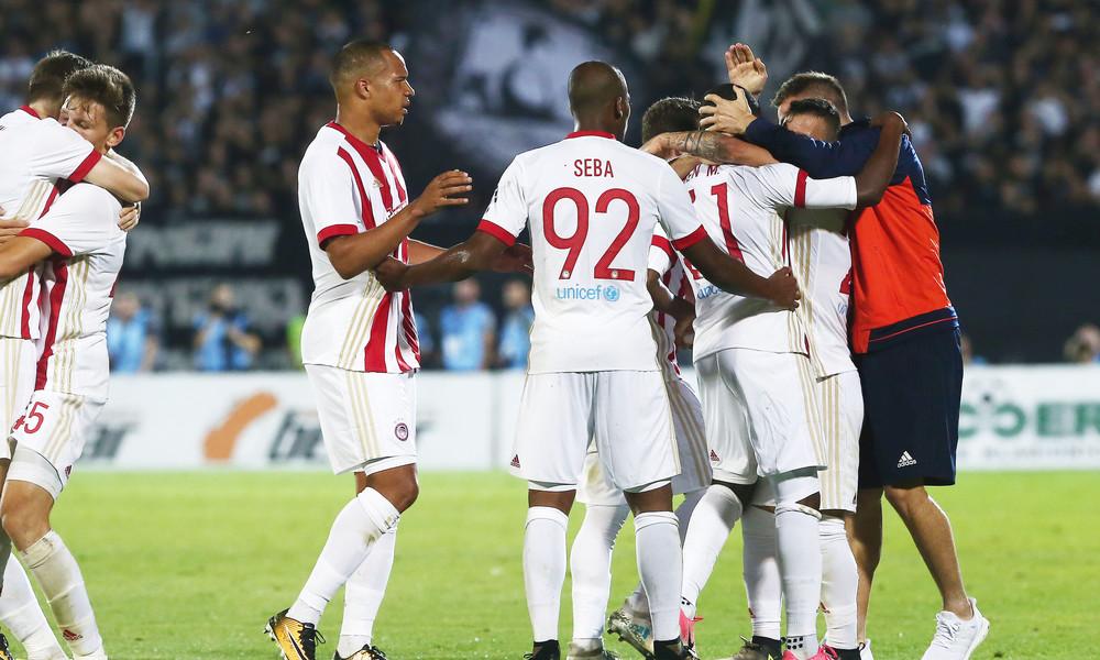 Παρτιζάν - Ολυμπιακός 1-3: «Τελείωσε» την πρόκριση στο Βελιγράδι!