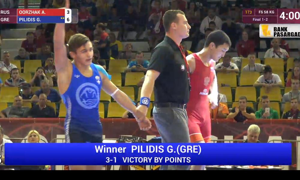 Πρωταθλητής Ευρώπης ο Πιλίδης!
