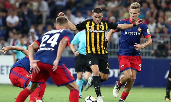 ΤΣΣΚΑ Μόσχας - ΑΕΚ 1-0: Τα highlights του αγώνα