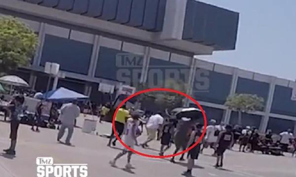 Ο Ρόμπερτ Χόρι πλακώθηκε στο ξύλο με θεατή σε αγώνα που έπαιζε ο γιός του