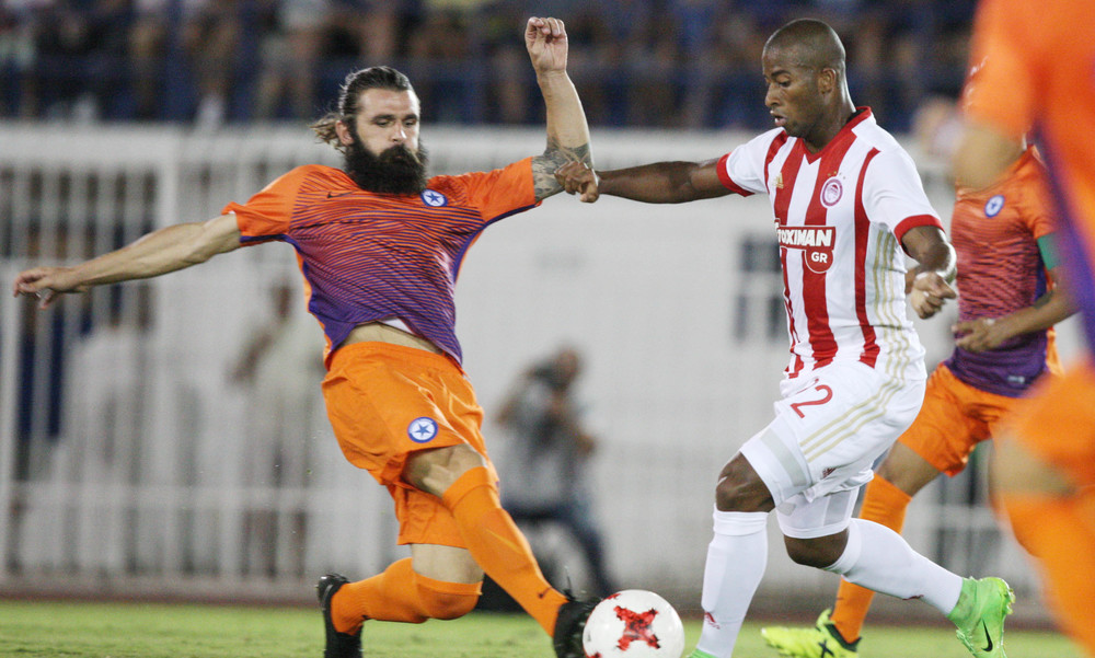 Ατρόμητος-Ολυμπιακός 1-0: Διπλή ήττα στο Περιστέρι για τους «ερυθρόλευκους»