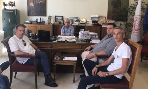 ΟΦΗ: Τα είπαν Τσάλος και Δήμαρχος Ηρακλείου