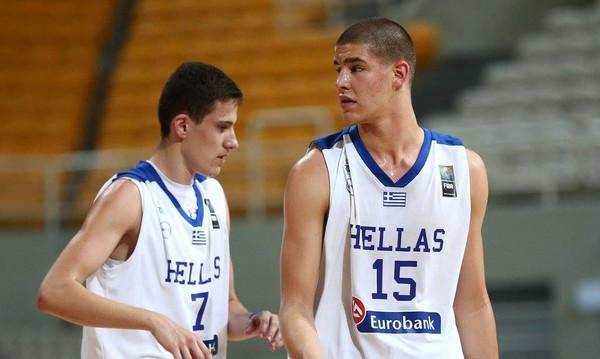 Ελλάδα-Λευκορωσία 101-60: Σαρωτική η Εθνική Παίδων στην πρεμιέρα