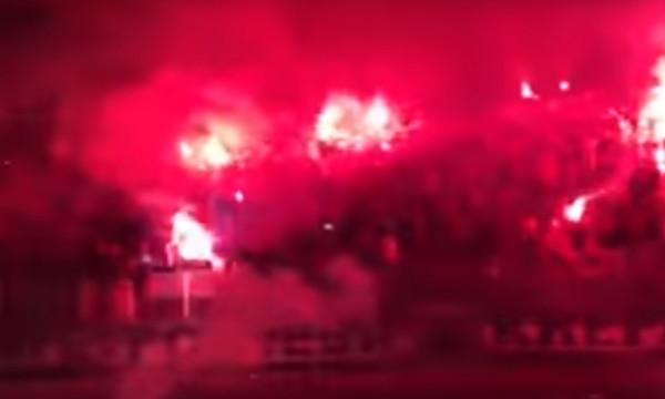Έγινε η νύχτα μέρα στην Κροατία στο γκολ της Ριέκα
