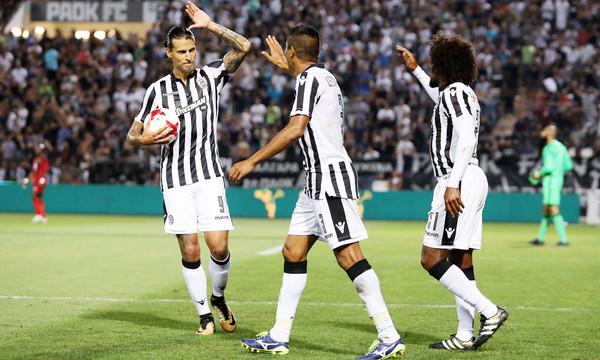 ΠΑΟΚ - Έστερσουντ 3-1: «Καθάρισε» ο Πρίγιοβιτς