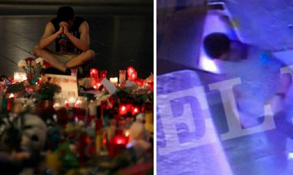Εικόνες - σοκ: Ο μακελάρης της Βαρκελώνης στιγμές μετά το τρομοκρατικό χτύπημα στη Las Ramblas