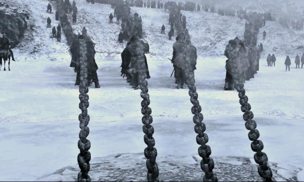 Ρε White Walkers, πού στην ευχή τις βρήκατε τις αλυσίδες;