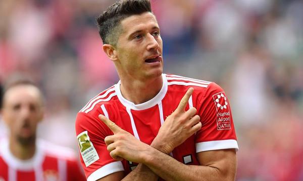 Bundesliga: «Καθάρισε» την Βέρντερ ο Λεβαντόφσκι