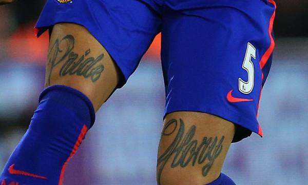 Γερμανός καθηγητής θέλει να απαγορεύσει τα τατουάζ στην Bundesliga