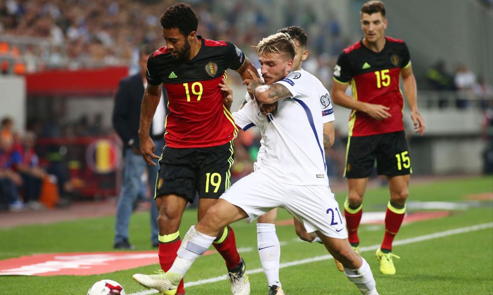 Ελλάδα - Βέλγιο 1-2: Κρίμα...