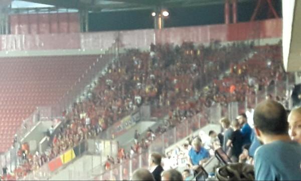 Ελλάδα - Βέλγιο: Ένταση μεταξύ οπαδών στο «Γ. Καραϊσκάκης»