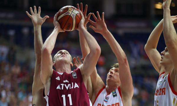 Ευρωμπάσκετ 2017: Έτσι… ξέρανε τη Ρωσία η Λετονία