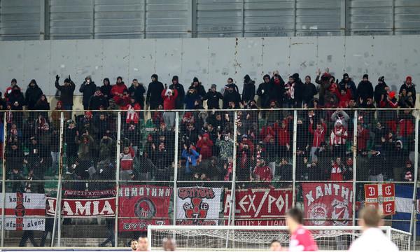 STOP της αστυνομίας στην μετακίνηση οπαδών του Ολυμπιακού στην Ξάνθη!