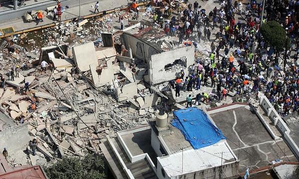 Ολυμπιακός: Στο πλευρό των σεισμόπληκτων στο Μεξικό (photo)