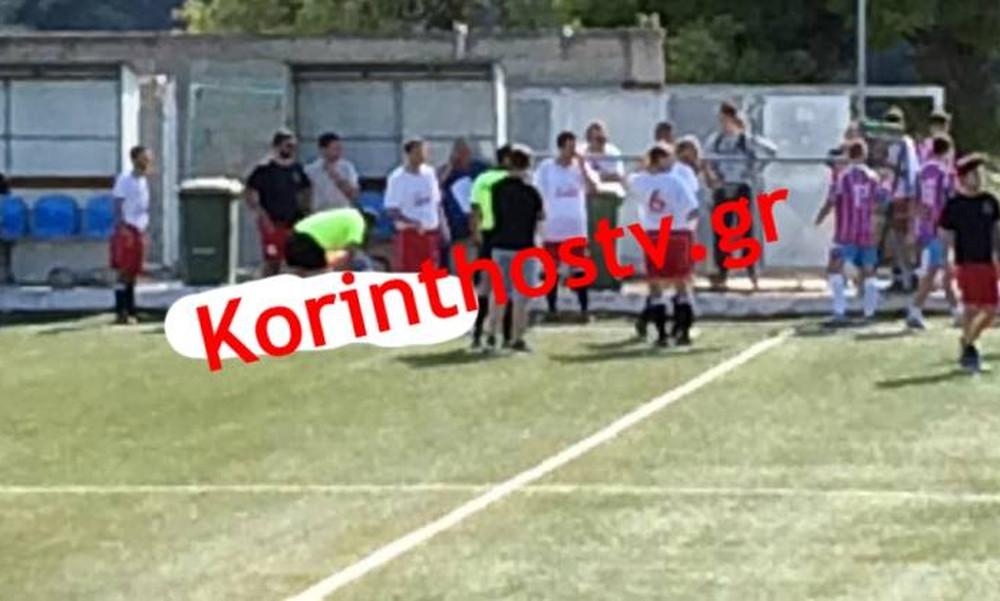 ΣΟΚ: Ποδοσφαιριστής έπαθε ανακοπή μέσα στο γήπεδο Δερβενίου! (pic+vid)