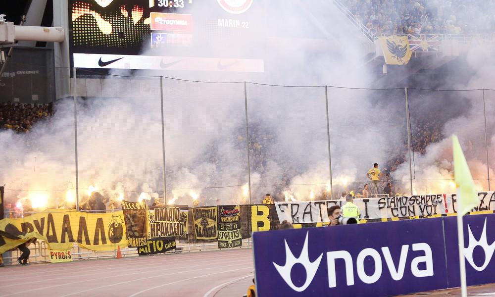 ΑΕΚ: Κίνδυνος αποκλεισμού της έδρας για… Ολυμπιακό!