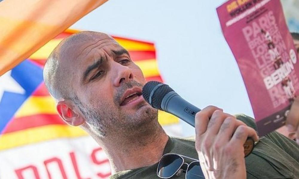Γκουαρντιόλα για δημοψήφισμα Καταλονίας: «Είναι μία μέρα για την δημοκρατία»