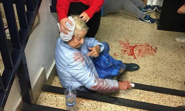 Ποιο καθήκον επιτάσσει να χτυπήσεις αυτή τη γιαγιά;
