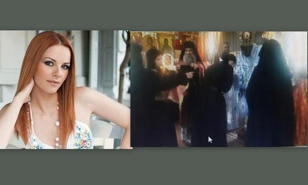 Ναταλία Λιονάκη: Είναι και επίσημα μοναχή - Χειροτονήθηκε ως αδερφή «Φεβρωνία» (photo+video)