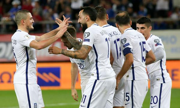 Ανέβηκε η Εθνική ομάδα στην κατάταξη της FIFA