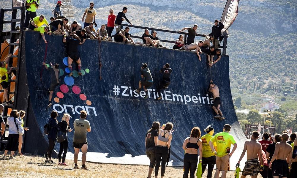 Απόβαση από 2.500 «Λεγεωνάριους» του «Legion Run Athens 2017» στον Ιππόδρομο Αθηνών στο Μαρκόπουλο