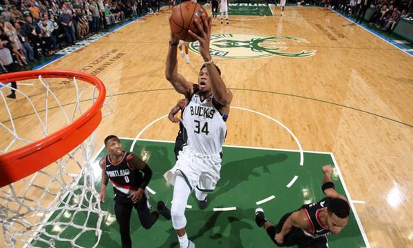 NBA: Όργια… και νέο ρεκόρ από Αντετοκούνμπο! (video)