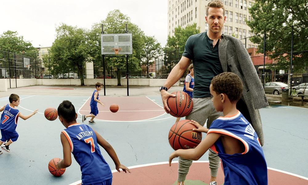 Ο Ryan Reynolds έχει το πιο άνετο στυλ στο Χόλιγουντ