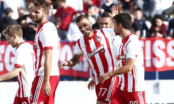 Αχαρναϊκός-Ολυμπιακός 0-3: Ξεκούραστα στη Νίκαια