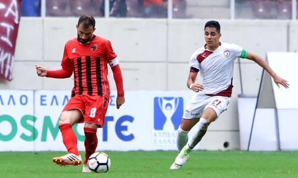ΑΕΛ-Παναχαϊκή 3-0: «Βυσσινί» θύελλα για τους «16»