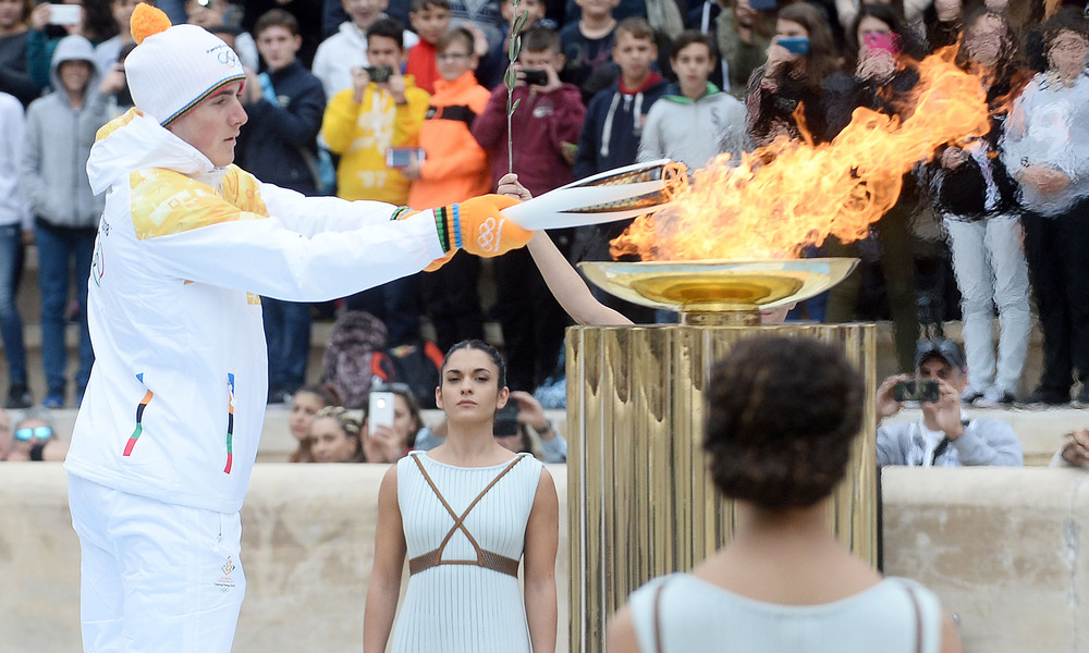 Χειμερινοί Ολυμπιακοί Αγώνες: Η Φλόγα έφτασε στη Νότια Κορέα