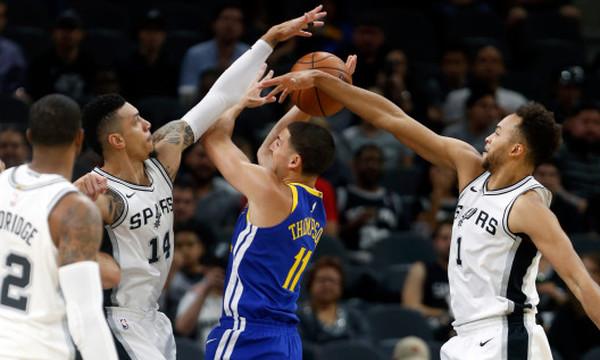 NBA: Εμφανίστηκαν… Πρωταθλητές στο Σαν Αντόνιο!