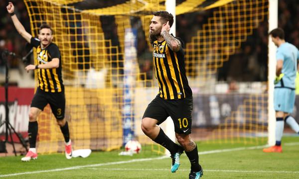 ΑΕΚ-ΠΑΟΚ 1-0: Με μέταλλο για τίτλο και Λιβάγια!