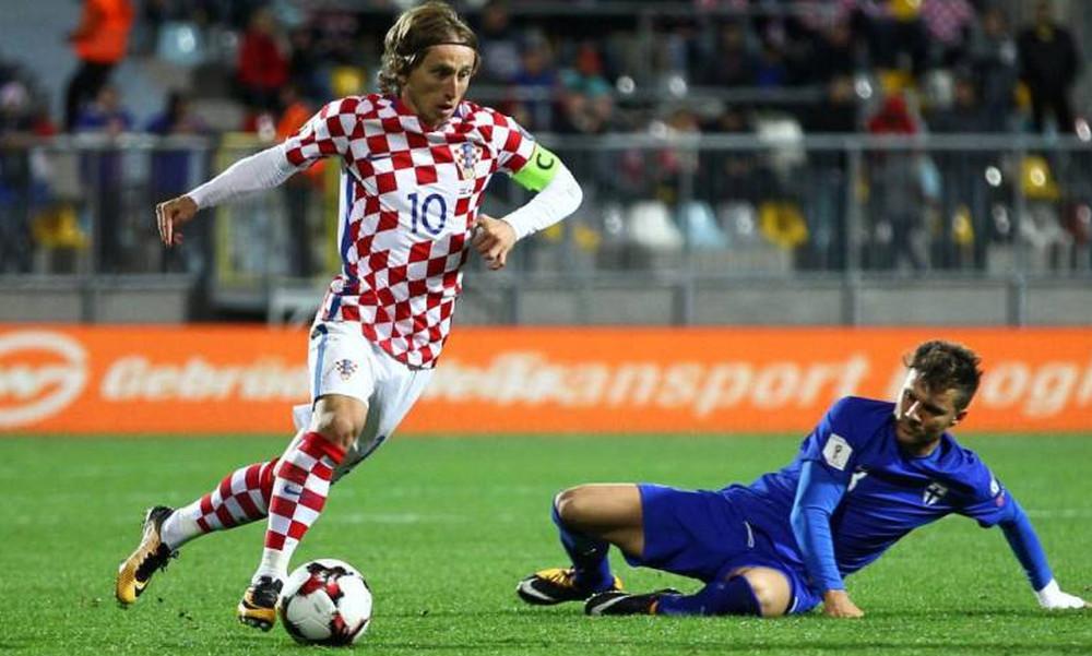 Κροατία-Ελλάδα: Η ενδεκάδα των Κροατών