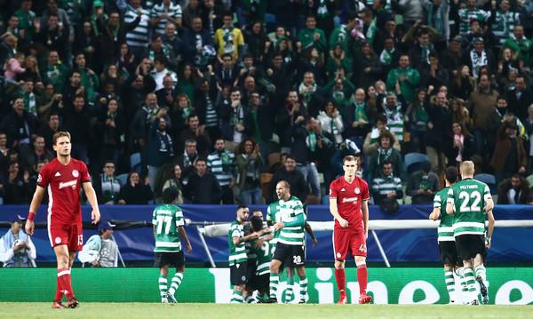 Σπόρτινγκ-Ολυμπιακός 3-1: Κατέρρευσε και είπε «αντίο» στη Λισαβόνα