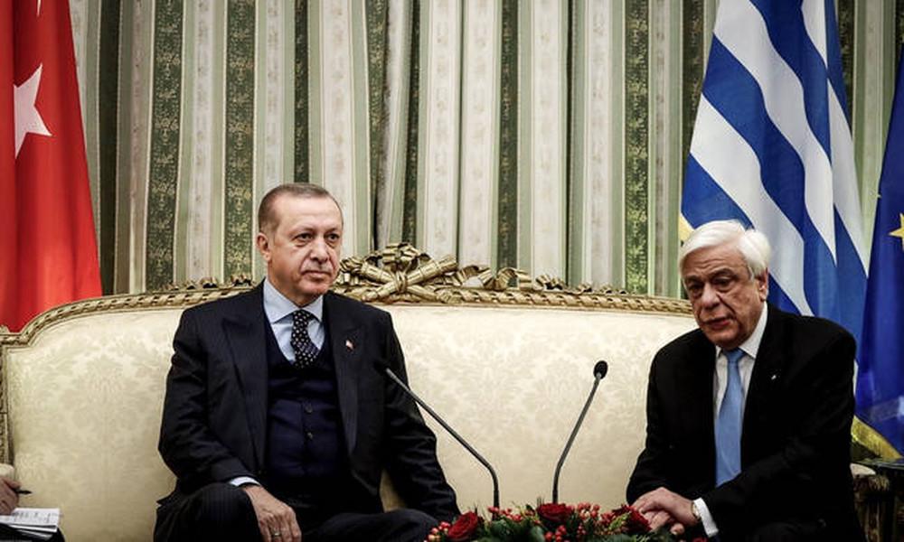 Ηχηρή απάντηση Παυλόπουλου σε Ερντογάν: Αδιαπραγμάτευτη η Συνθήκη της Λωζάνης