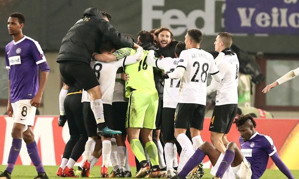 Αούστρια Βιέννης-ΑΕΚ 0-0: Το ταξίδι συνεχίζεται - Ιστορική πρόκριση στους «32» του Europa League