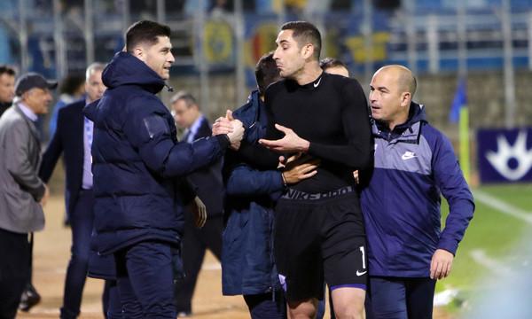 Λαμία: Τρομερό! Πέντε αγωνιστικές στον Παπαδόπουλο για την αγκαλιά στον διαιτητή!